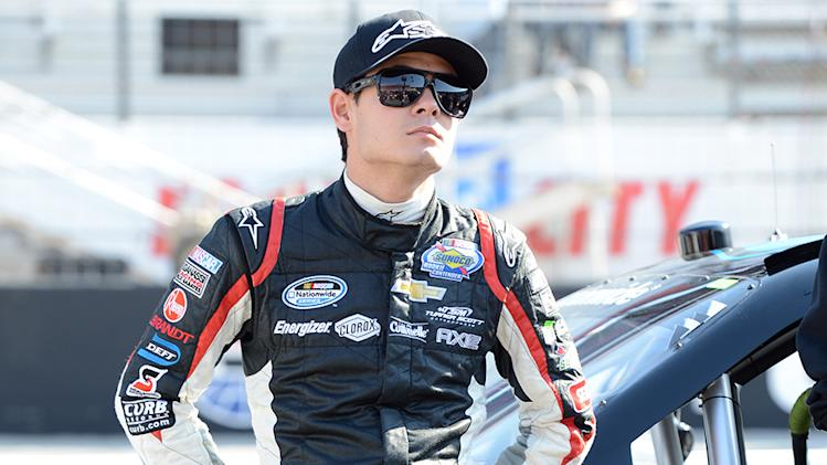 Larson looks to continue hot start in home state