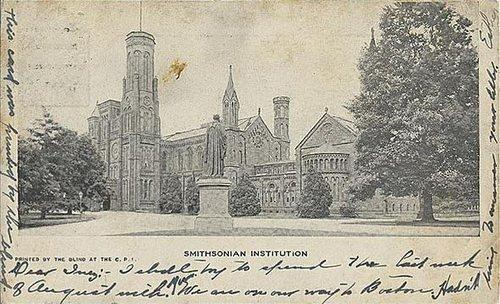 You've Got Mail: A Look into the Smithsonian's Past with Vintage Postcards