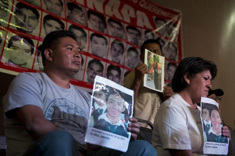 Rights groups rap Mexico for declaring 43 students dead