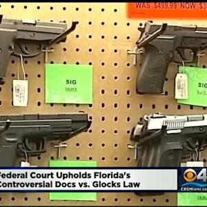 Appeals Court OKs 'Docs VS. Glocks' Law