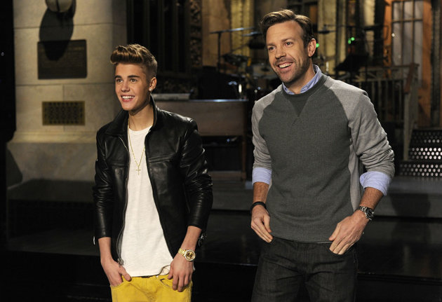 Justin Beiber hosts the thirteenth episode of &quot;Saturday Night Live&quot; Season 38.
