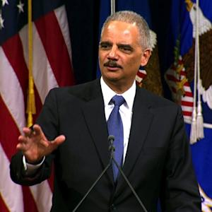 "Eric Holder: Justice Department has been ""restored"""