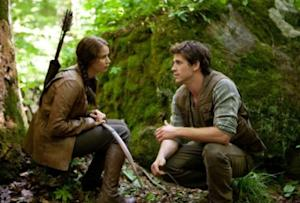 """Jennifer Lawrence and Liam Hemsworth in """"The Hunger Games"""" -- Lionsgate"""