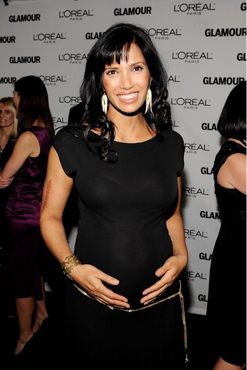 Padma Lakshmi attends the The 2009 Women of the Year hosted by Glamour Magazine at Carnegie Hall on November 9, 2009 in New York City.