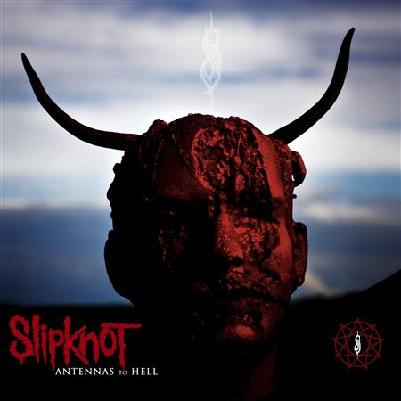 "Publicity photo of the cover of the new Slipknot album ""Antennas to Hell"""