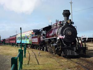 Local Conservation Group Saves Bay Area's Historical Skunk Train
