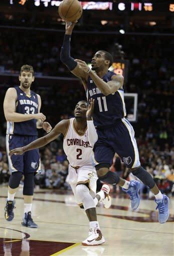 Gasol leads Grizzlies past Cavaliers 103-92