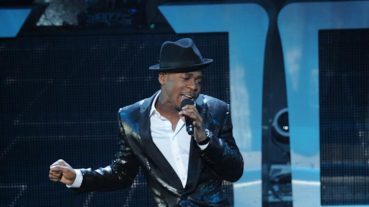 "Marcus Canty performs ""Ain't Nobody"" by Rufus & Chaka Khan on ""The X Factor."""