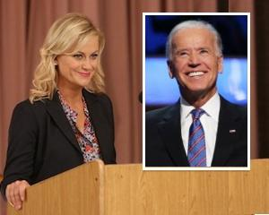 Parks and Rec Lands Vice President Joe Biden