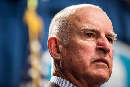 California Governor Brown hears business concerns about drought plan