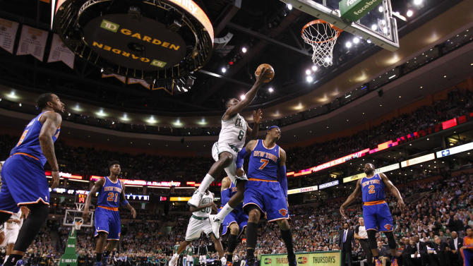 NBA: New York Knicks at Boston Celtics