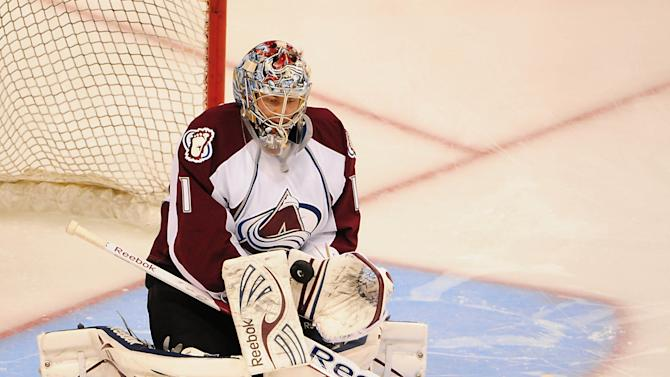 NHL: Colorado Avalanche at Vancouver Canucks