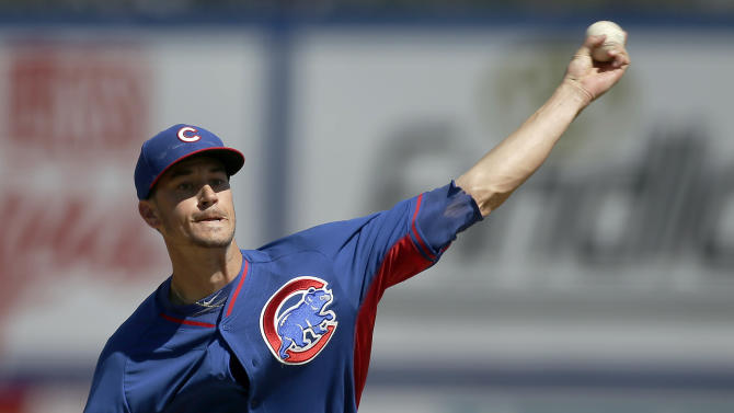 Rusin strong as Cubs top Mets 6-3