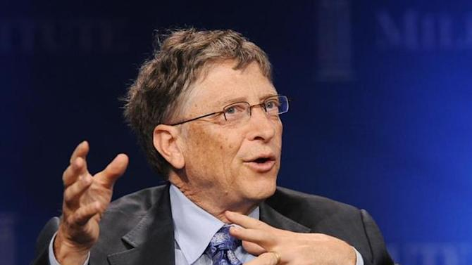 "Bill Gates, Microsoft Chairman and Co-Chair and Trustee of the Bill & Melinda Gates Foundation, takes part in a panel discussion titled ""Investing in African Prosperity"" at the Milken Institute Global Conference in Beverly Hills, California May 1, 2013. REUTERS/Gus Ruelas/Files"