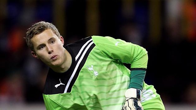 Jonathan Miles, on loan Tottenham Hotspur goalkeeper (PA Photos)