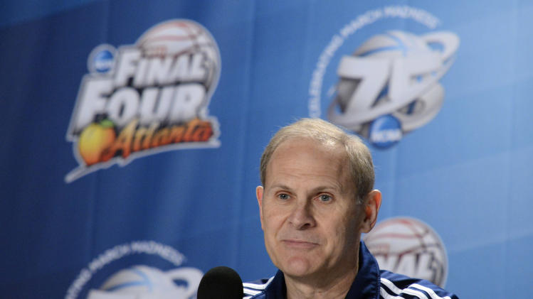 NCAA Basketball: Final Four-Coaches Press Conference