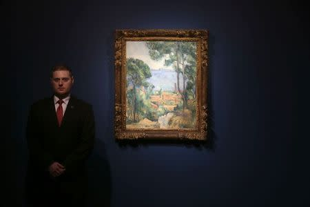 'Shimmering' Cezanne to heat up art auction, Christie's says
