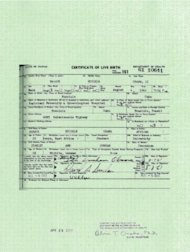 President Obama's long-form birth certificate