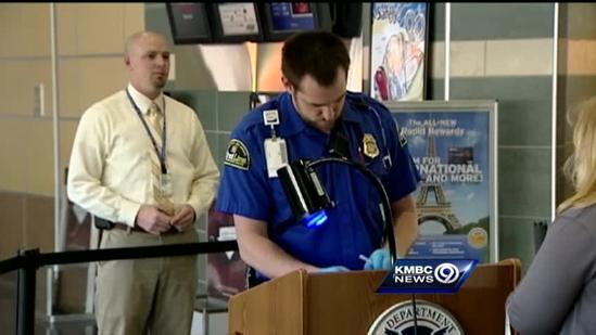 Travelers react to end of airport security body scanners