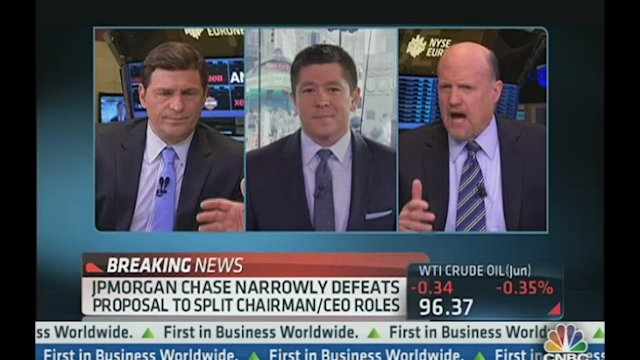 Cramer: Corporate Tax Code is 'Outrageous'