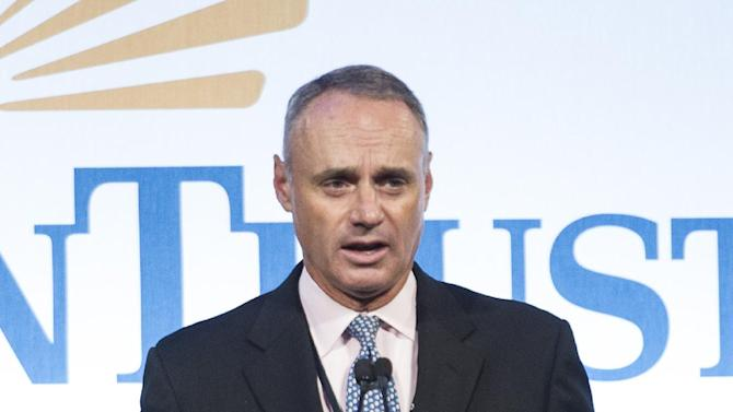 Manfred, Clark on MLB length of games committee