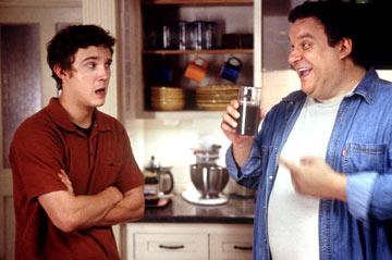 Sam Huntington and Jeff Garlin in MGM's Sleepover