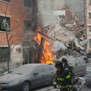 Witnesses Describe NY Building Collapse