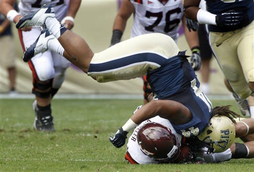 Pitt surprises No. 13 Virginia Tech 35-17
