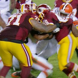 Cleveland Browns four-down goal line preseason stand