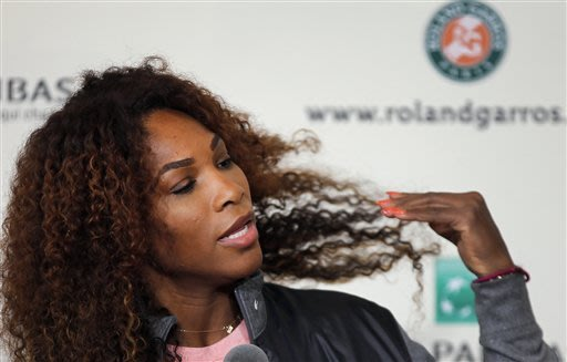 Williams sisters entered in doubles at French Open