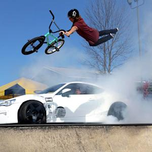 Ryan Tuerck Shreds Tires! NEW Street FRS Drifting At Woodward: Tuerck'd