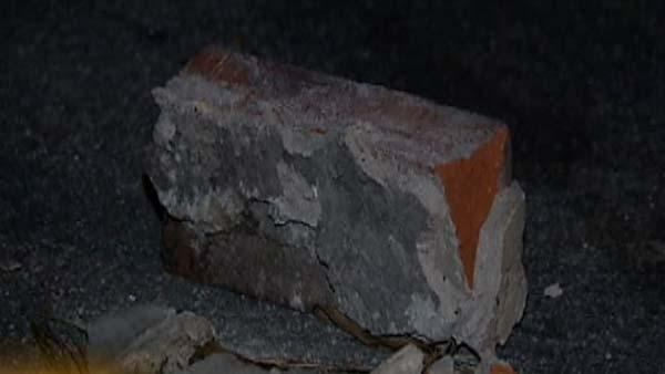 Reward offered in rock, brick throwing incidents
