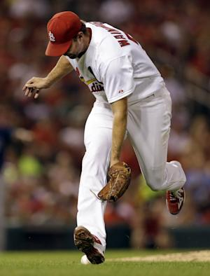 Wainwright stumbles, Cards lose 7-2 to Rays