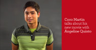 Coco Martin talks about new movie with Angeline Quinto