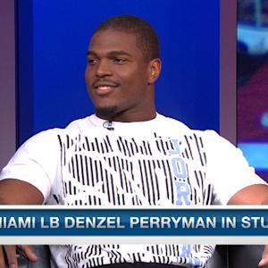 Miami linebacker Denzel Perryman on his tackling technique