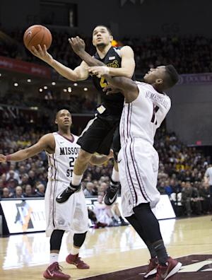 No. 6 Wichita State rallies for 72-69 win