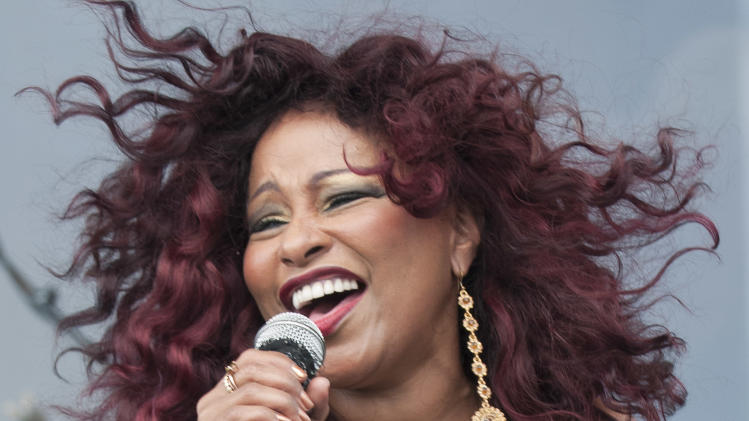 COMMERCIAL IMAGE - In this photograph taken by AP Images for AIDS Healthcare Foundation, Pop icon Chaka Kahn headlines the 2013 Florida AIDS Walk & Music Festival on the beach in Fort Lauderdale, FL on Sunday, March 24th, 2013. Attended by thousands each year, the event raises needed funds for local HIV/AIDS service organizations. (Mitchell Zachs/AP Images for AIDS Healthcare Foundation)