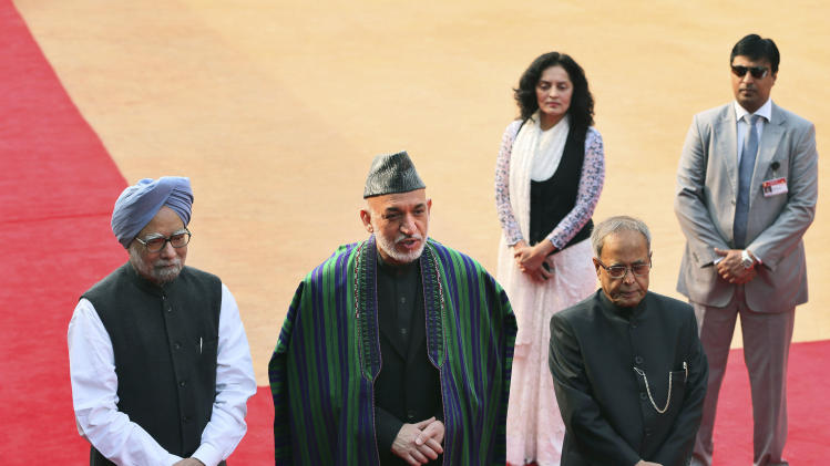 Karzai in India to woo investment in Afghanistan