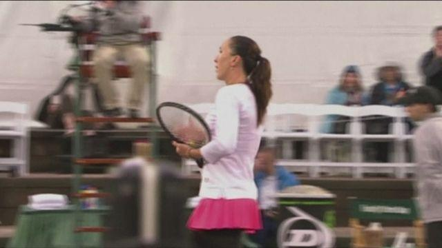 Jankovic to face Bouchard in Family Circle Cup