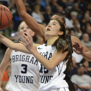 WCC Championship Semifinal Round Press Conference - BYU and Pacific Women