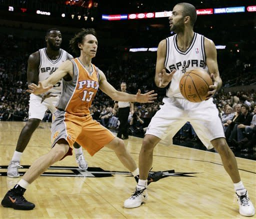Duncan helps Spurs improve to 9-0 at home