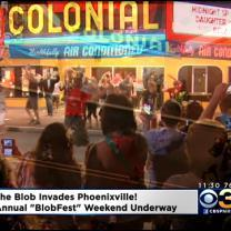 Annual 'BlobFest' Weekend Underway In Phoenixville