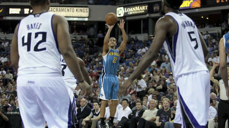 NBA: New Orleans Hornets at Sacramento Kings