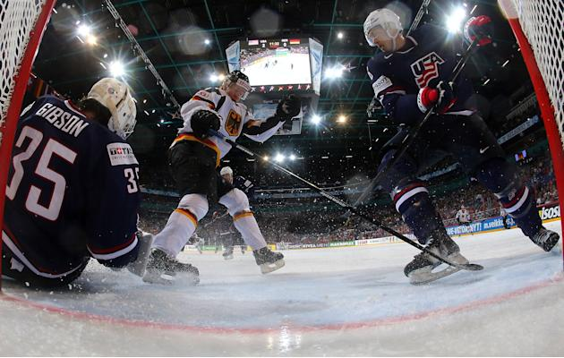USA v Germany - 2013 IIHF Ice Hockey World Championship