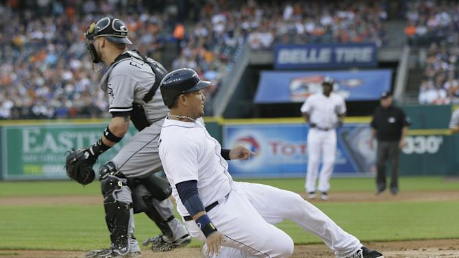 White Sox allow 6 in 1st, lose 7-2 to Tigers