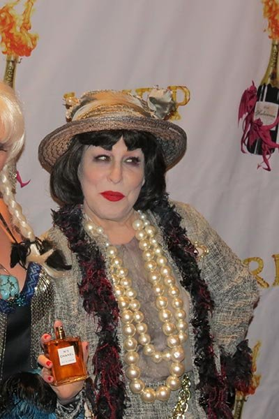 Bette Midler as Zombie Coco Chanel
