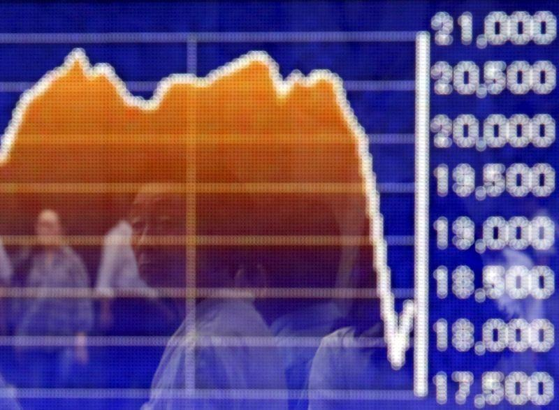 Asian shares fall for third day on global growth concerns