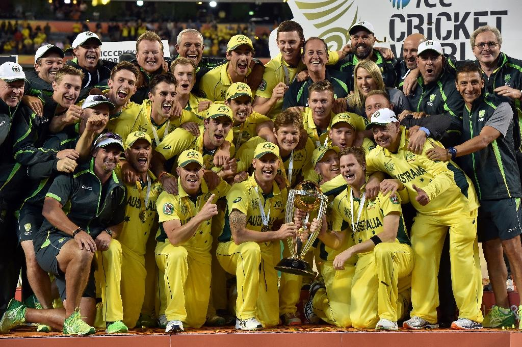 Australia lauded for World Cup win