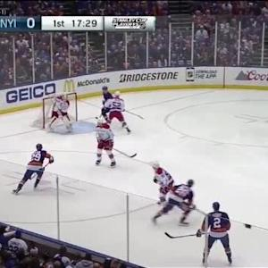 Braden Holtby Save on Tyler Kennedy (02:32/1st)