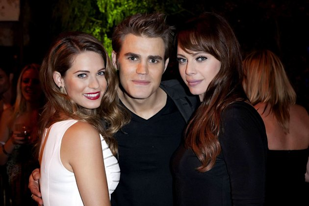 "Lyndsy Fonseca (""Nikita""), Paul Wesley (""The Vampire Diaries""), and Melinda Clarke (""Nikita"") attend The CW Fall Premiere party presented by Bing at Warner Bros. Studios on September 10, 2011 in Burba"
